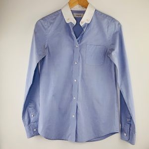 Coach Button Down Oxford Shirt Size 2 Career Wear